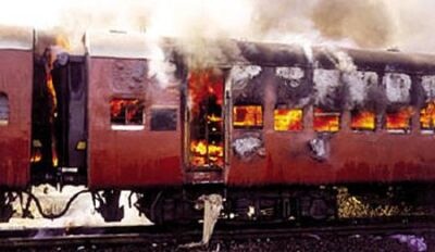 The Burnt Godhra Train